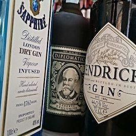 Gin Flaschen