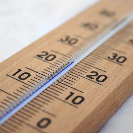 Termometer mit 20 Grad