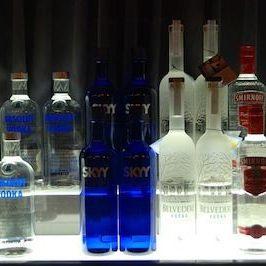 Wodka Flaschen