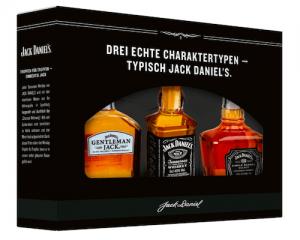 Amerikanischer Schnaps in kleinen Flaschen