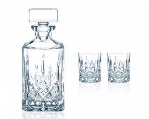 Flasche für Schnaps aus Kristall
