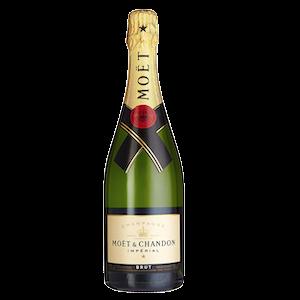 Moet Champagner Flasche